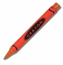 ACME Crayon Orange Retractable Rollerball Pen