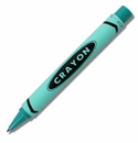 ACME Crayon Teal Retractable Rollerball Pen