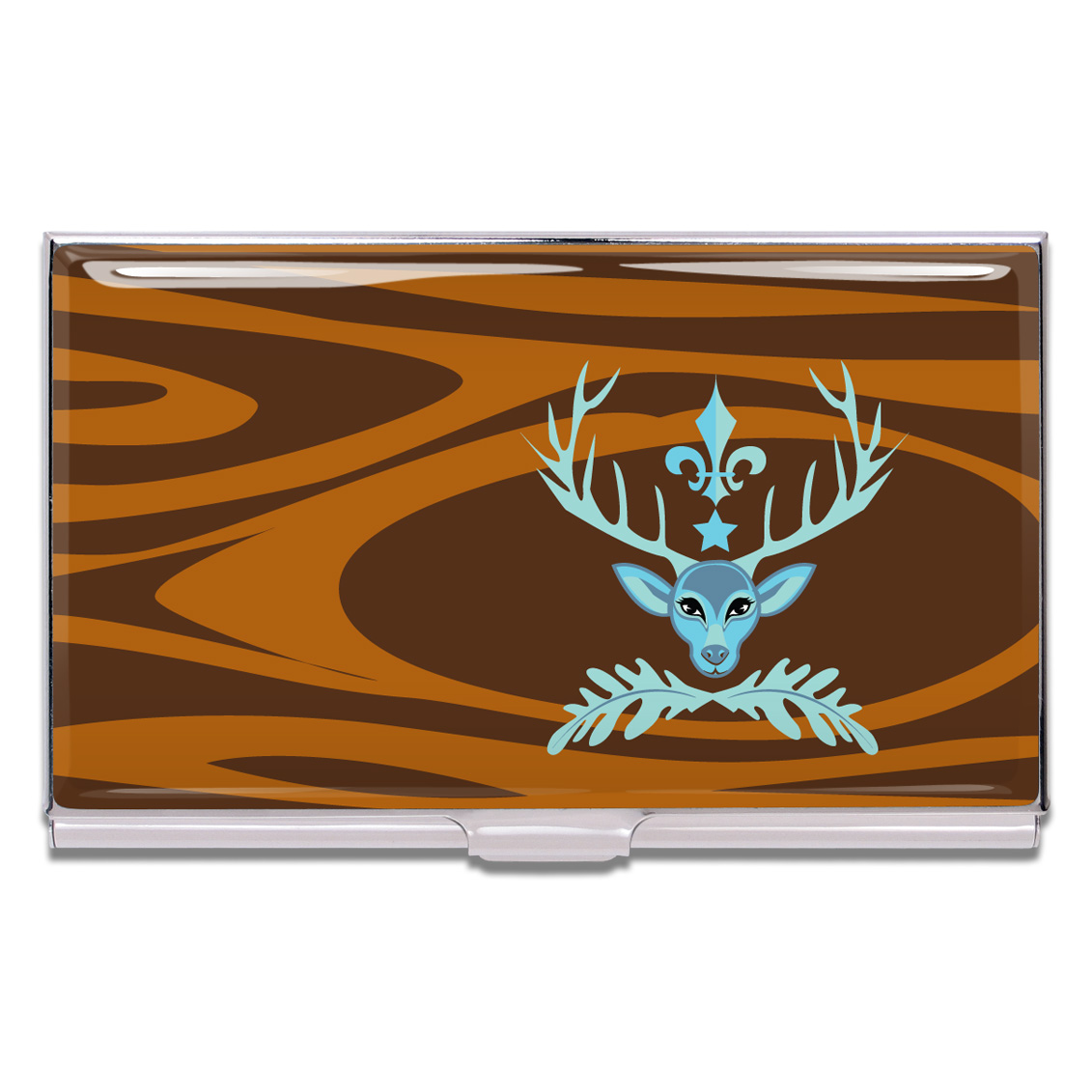 ACME Deer Prudence Business Card Case