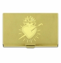 ACME Heart Etched Card Case