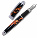 ACME Inner Mounting Flame Fountain Pen