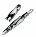 ACME Rings White Fountain Pen