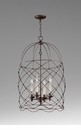 Adele Foyer Bronze Pendant Light by Cyan Design