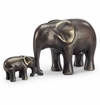 Affectionate Moment Elephant Sculpture by SPI Home