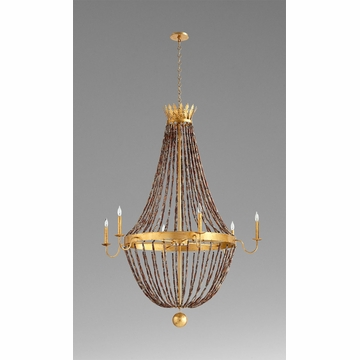 Alessia 6 Light Chandelier by Cyan Design