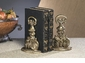 Antique Brass Bookends Home Decor