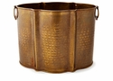 Dessau Home Antique Brass Planter - Large Home Decor