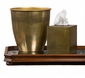Antique Brass Tissue Box Home Decor