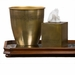 Dessau Home Antique Brass Tissue Box Home Decor