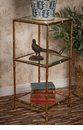 Dessau Home Antique Gold 3-Tier Etagere Home Decor