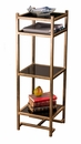 Antique Gold Etagere Home Decor