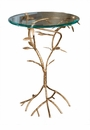 Antique Gold Leaf Branch Table Home Decor