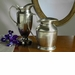 "Dessau Home Antique Silver 10"" Decorative Pitcher Home Decor"
