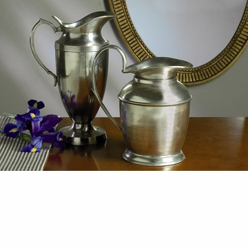 Dessau Home Antique Silver 10'' Decorative Pitcher Home Decor