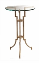 Dessau Home Antique Silver Tripod Table Home Decor