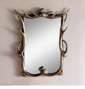 Antler Wall Mirror by SPI Home