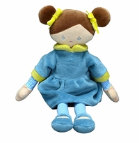 Applesauce Ella Aqua French Style Plush Doll