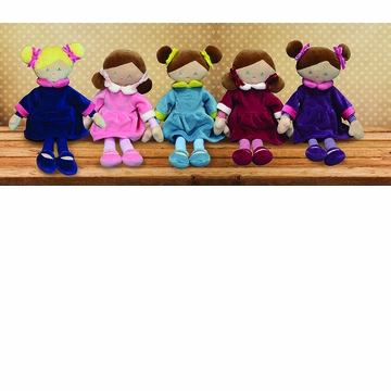 Applesauce Violet Purple French Style Plush Doll