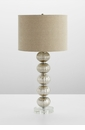 Aria Mercury Glass Table Lamp by Cyan Design