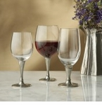 Arte Italica Anna Glass and Pewter Collection