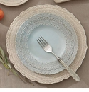 Arte Italica Finezza Blue Four Piece Dinnerware Place Setting