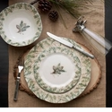 Arte Italica Foresta Four Piece Dinnerware Place Setting