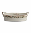 Arte Italica Natale Bowl with Rope Handles