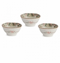 Arte Italica Natale Dipping Bowl Set