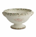 Arte Italica Natale Footed Bowl with Handles