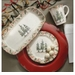 Arte Italica Natale Four Piece Dinnerware Place Setting