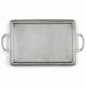 Arte Italica Peltro Pewter Medium Rectangular Tray