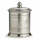 Arte Italica Roma Pewter Small Pewter Canister