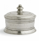 Arte Italica Roma Pewter Small Round Box