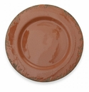 Arte Italica Scavo Crackled Rust Charger Plate