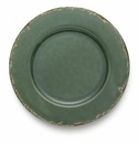 Arte Italica Scavo Green Charger Plate