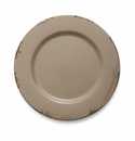 Arte Italica Scavo Taupe Charger