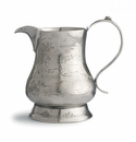 Arte Italica Vintage Pewter Pitcher with Deer