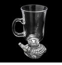 Arthur Court Alligator Glass Beverage Mug