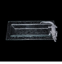 Arthur Court Alligator Glass Oblong Tray