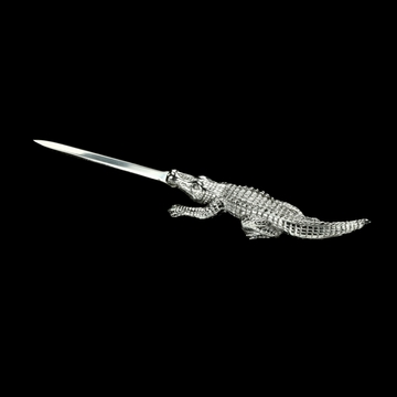 Arthur Court Alligator Letter Opener