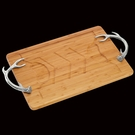 Arthur Court Antler Bamboo Carving Board