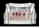 "Arthur Court Churchill Downs Picture Frame 4""x6"""