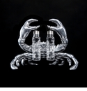 Arthur Court Crab Hanging Salt & Pepper Set