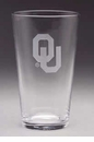 Arthur Court Designs Oklahoma Pub Glass