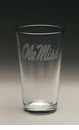 Arthur Court Designs Ole Miss Pub Glasses Set of 4