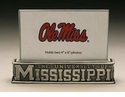 "Arthur Court Designs Ole Miss Two Sided Photo Frame 4"" x 6"""