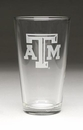 Arthur Court Designs Texas A&M Pub Glass