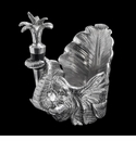 Arthur Court Elephant Wine Caddy and Stopper Set