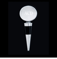 Arthur Court Engravable Oval Bottle Stopper