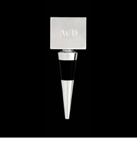 Arthur Court Engravable Square Bottle Stopper